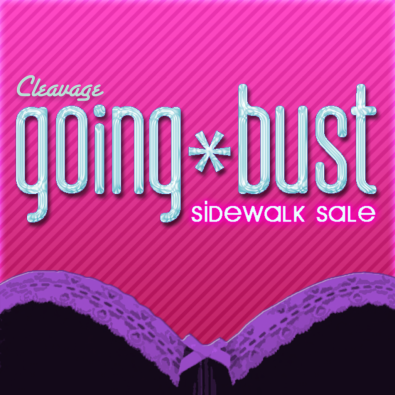 Going Bust! - Monthly Event