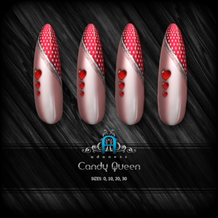 v-candy queen-candy apple