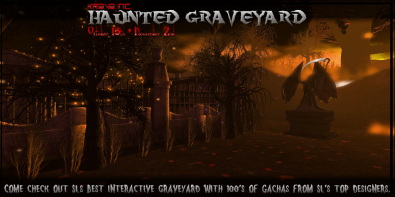 Krave Inc __ Haunted Graveyard - Gacha Event - Flyer