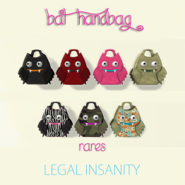 Legal Insanity - Bat Bags (AD)
