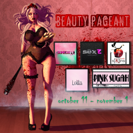 The Beauty Pageant Oct. 11th - Nov. 1st 2014