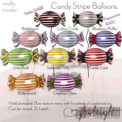 W.T.F __ Candy Stripe Gacha - Promo Texture