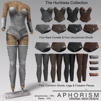 !APHORISM! Huntress Collection Gacha Key