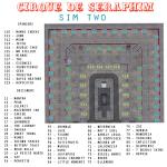 CIRQUE DE SERAPHIM - SIM TWO MAP