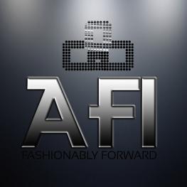 Afi Designs ~ Silver Logo on gradient copy